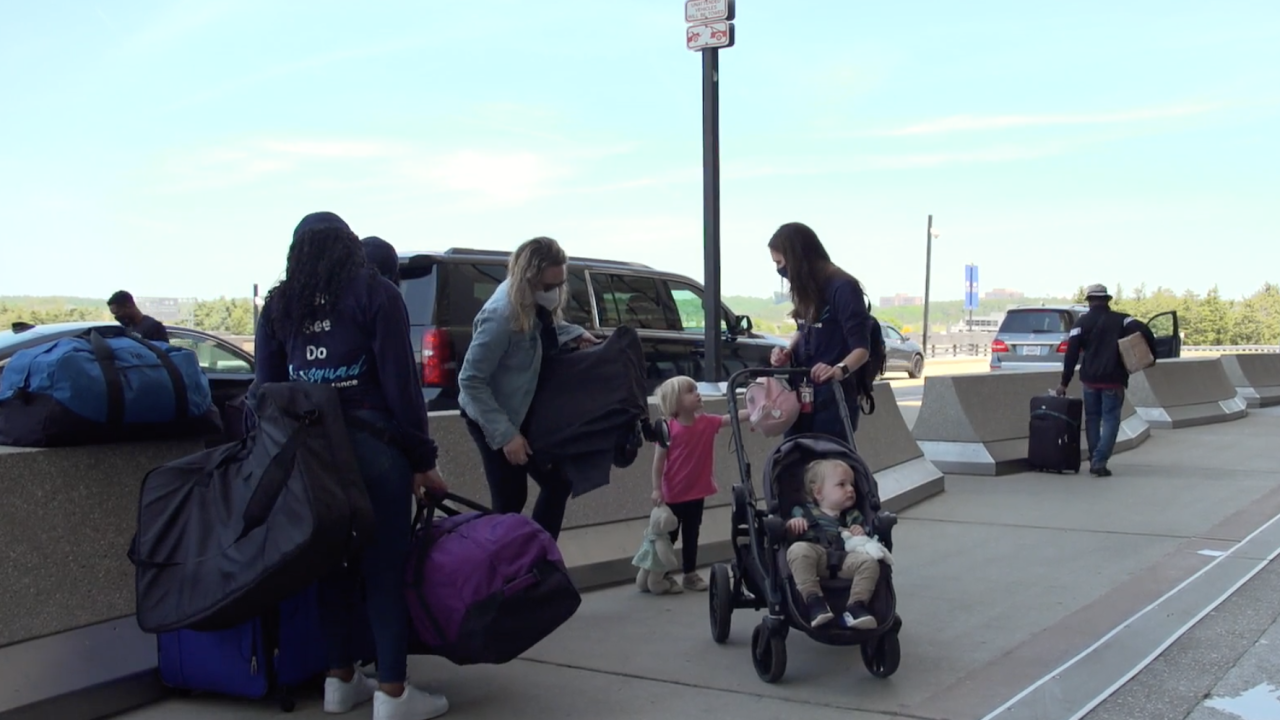 SkySquad is a company that helps people, like families and seniors, get through the airport and onto their flights. As the summer travel season kicks off, the company is expecting far more travelers than the dismal numbers seen last year during the pandemic.