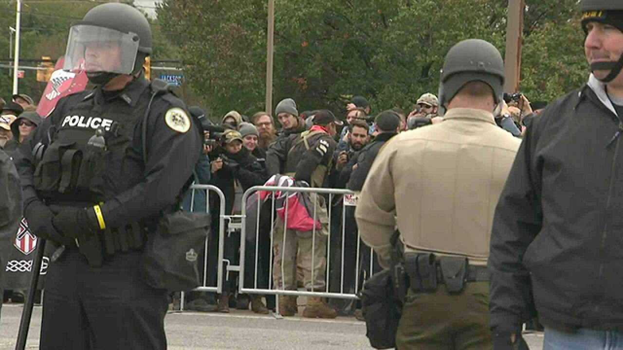 Shelbyville Protests End Without Violence