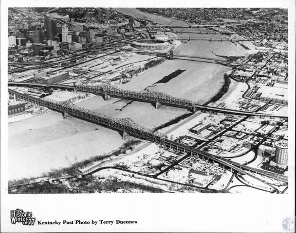 Frozen River: Cincinnati cold snap of 1977