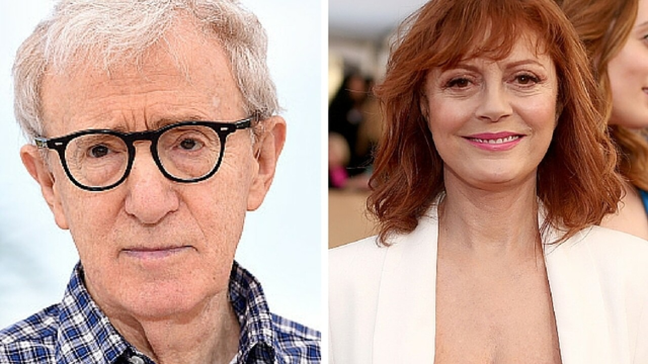 Susan Sarandon tees off on Woody Allen at Cannes