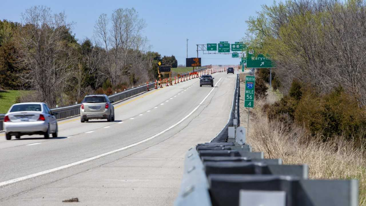 I-29 from St  Joseph to Omaha reopens after flooding repairs