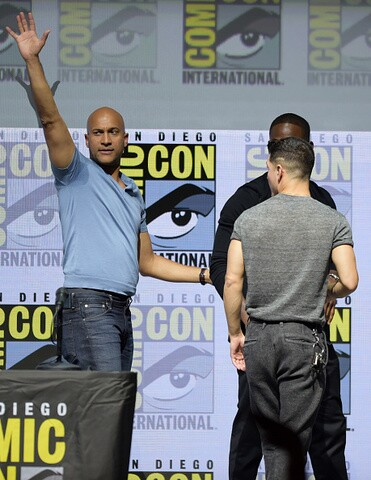 'Predator' stars appear at Comic-Con