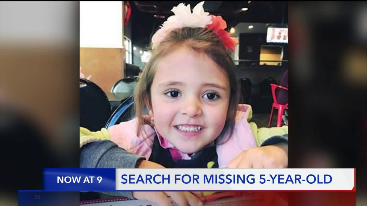 Logan community watches search, hopes for return of missing 5-yearold