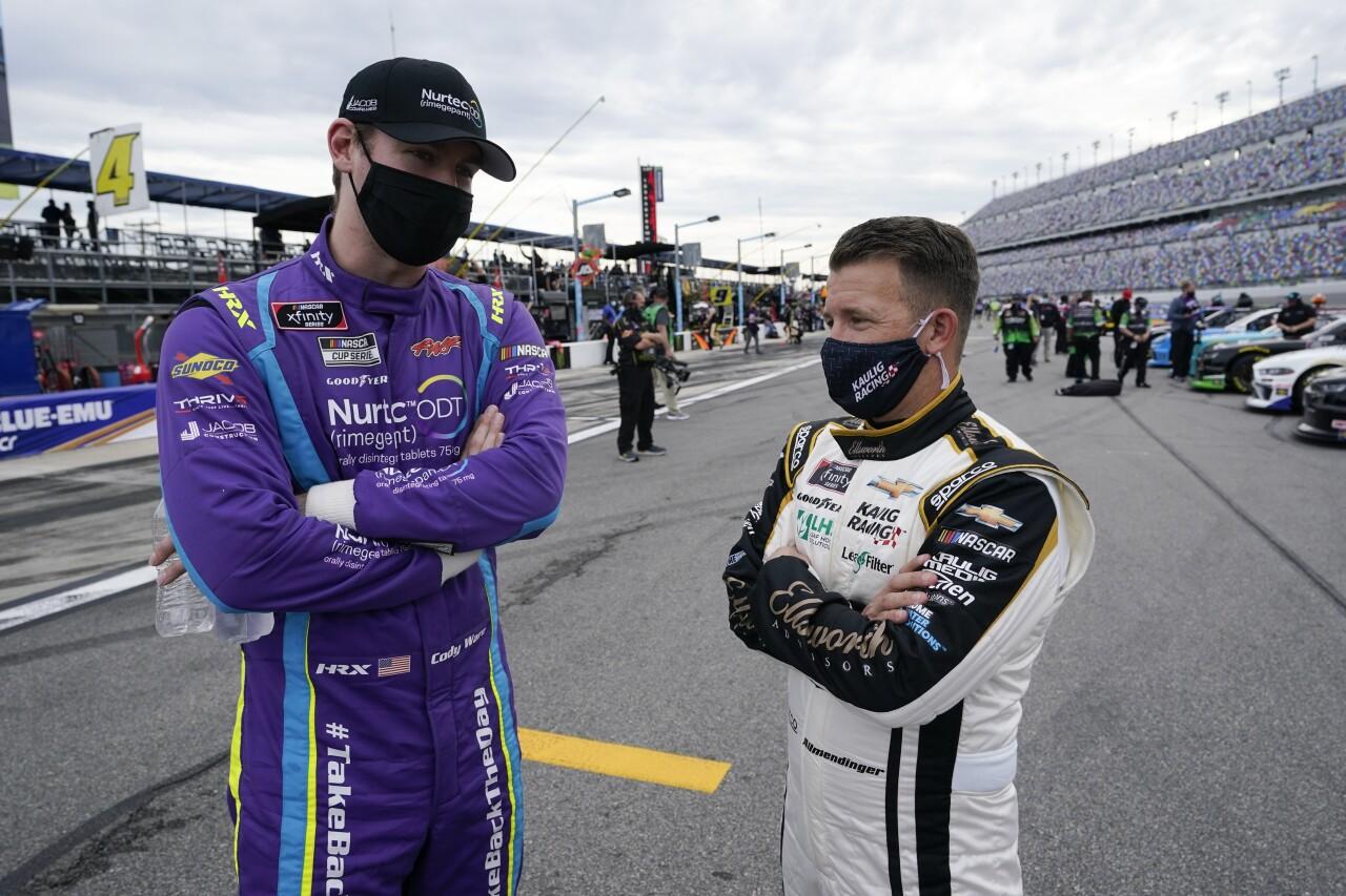 Cody Ware and AJ Allmendinger