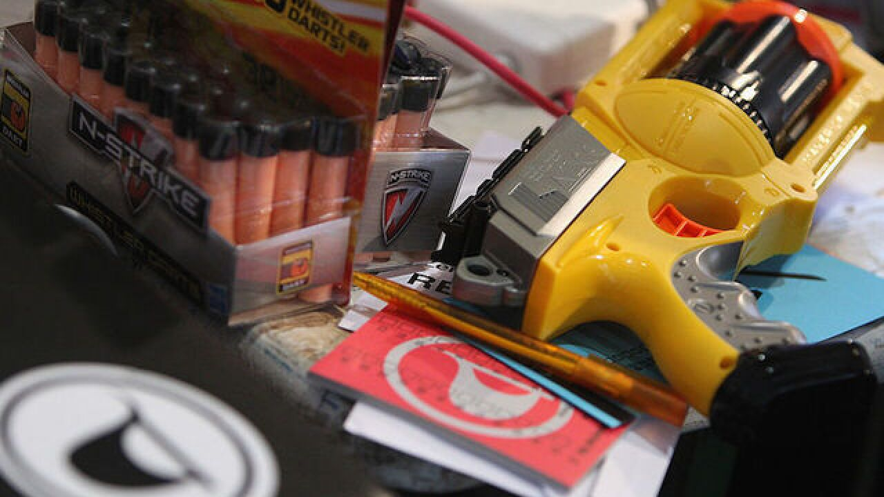 Ohio police department warns against 'Nerf Wars'