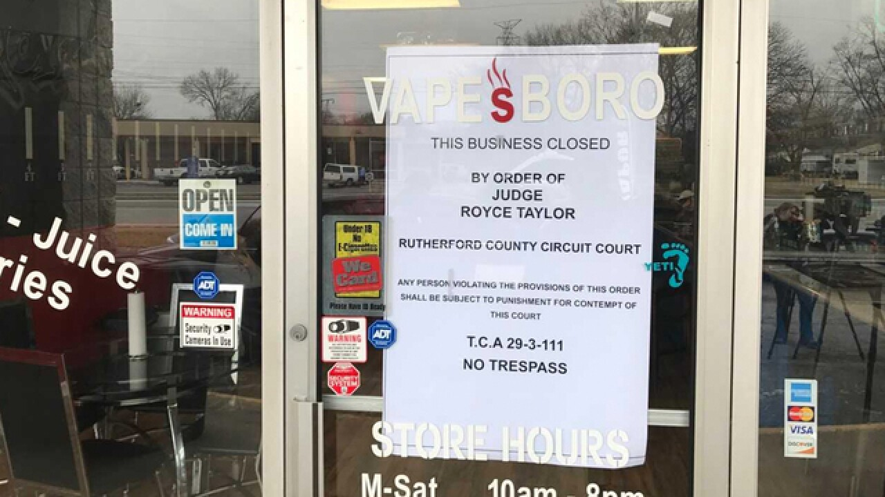 23 Rutherford Co. Stores Padlocked For Allegedly Selling Candy With CBD