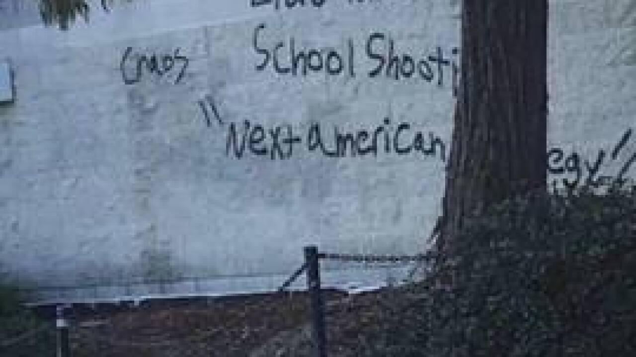 Rancho Bernardo High School Campus Map.Police Investigate Threatening Messages At Rancho Bernardo High School