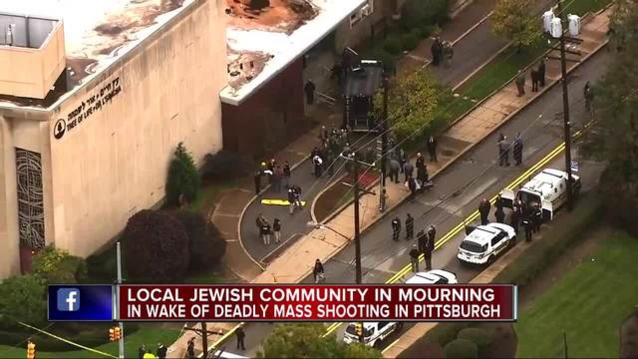 Local Jewish community reacts to mass shooting