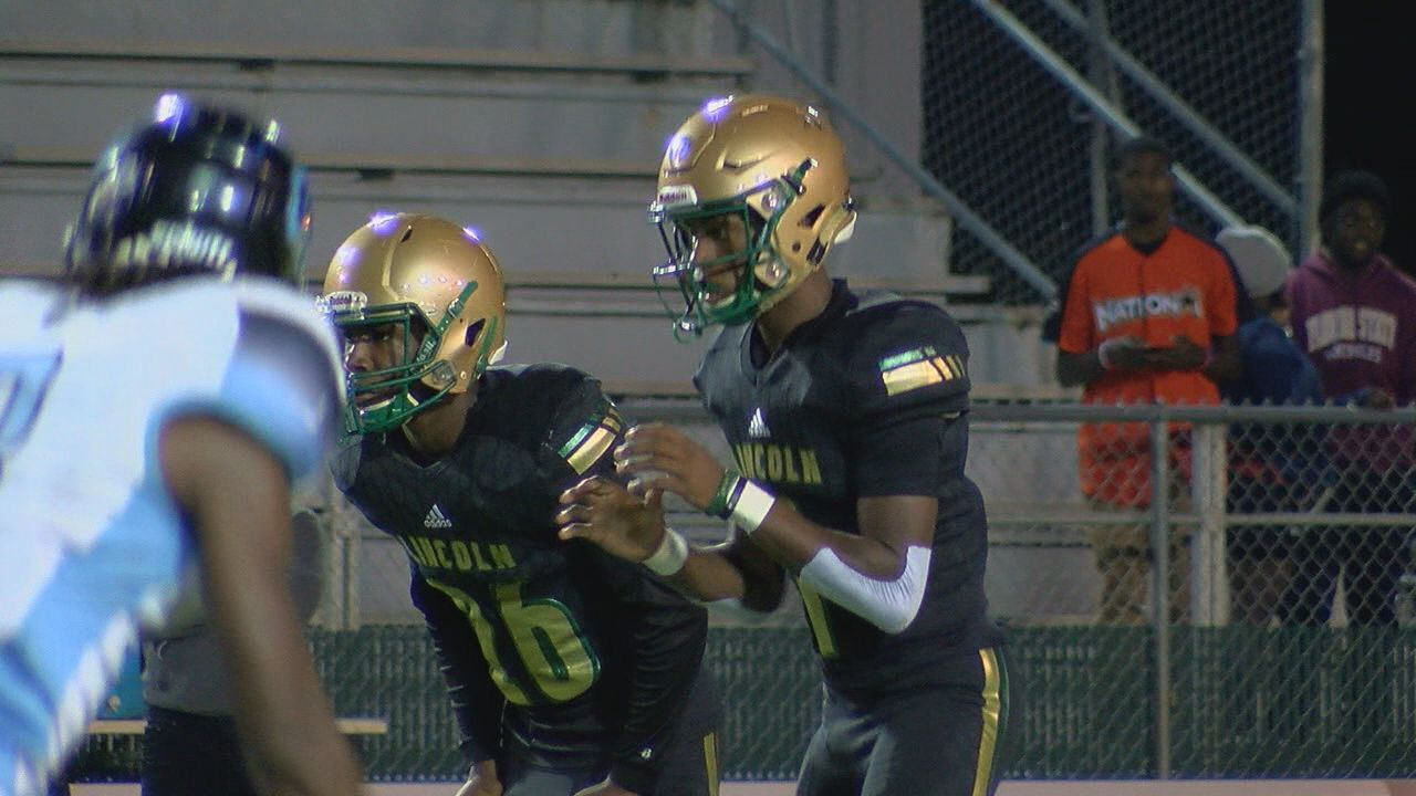Lincoln wraps up regular season with win over Ribault