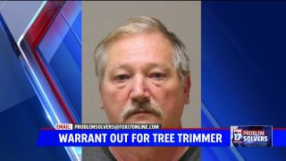 Arrest warrant issued for 'no-show' tree cutter for alleged fraud