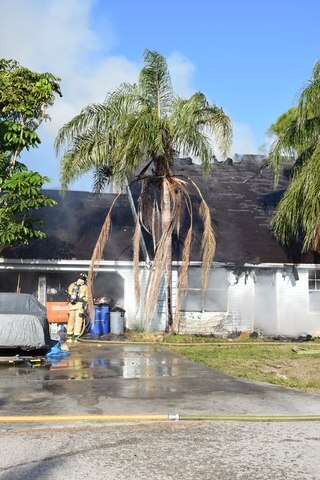 Photos: San Carlos Park home destroyed by fire