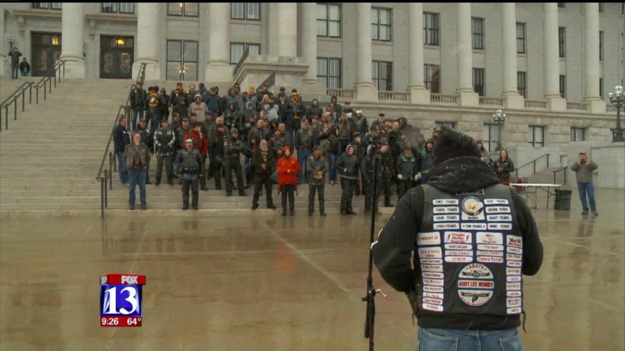Utah motorcycle advocates rally at StateCapitol