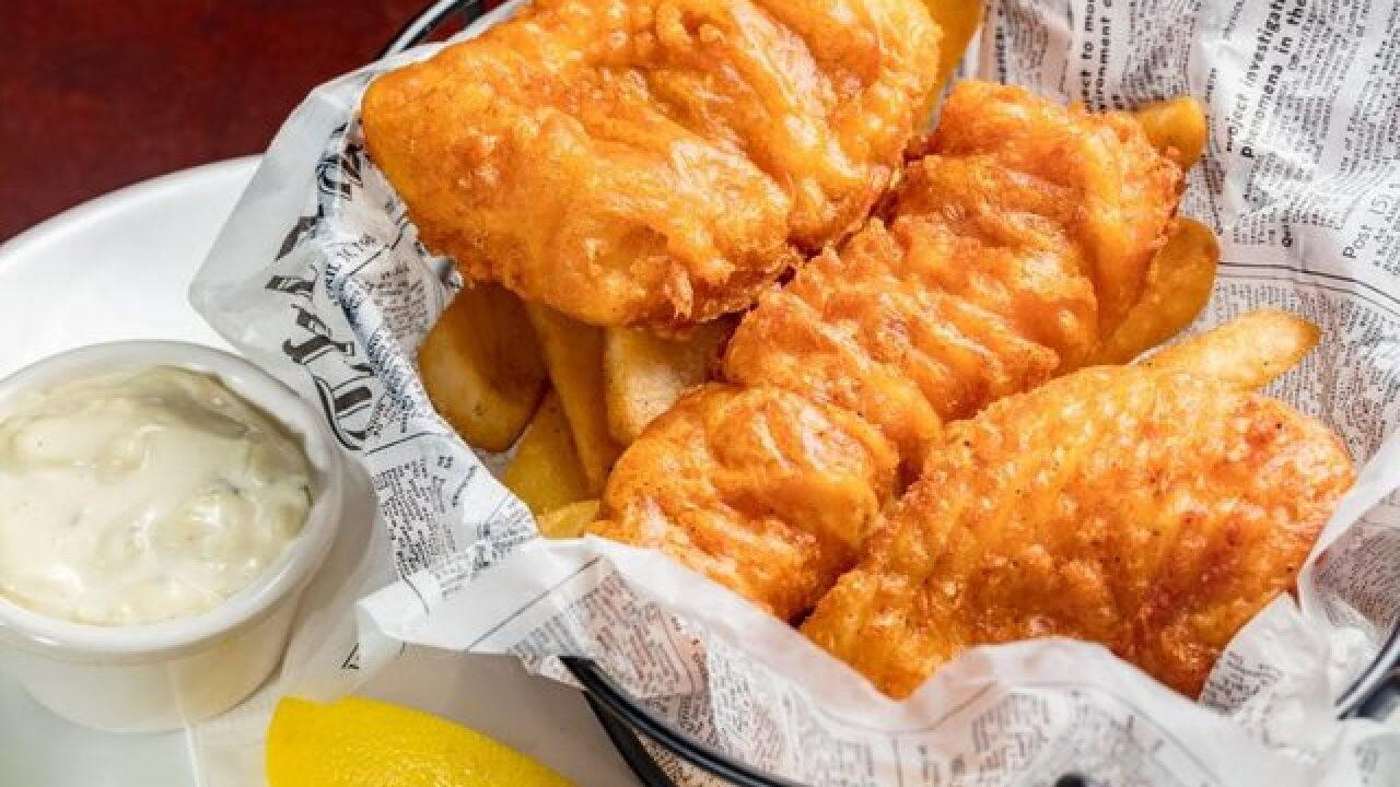 Places to eat fish in Las Vegas during Lent