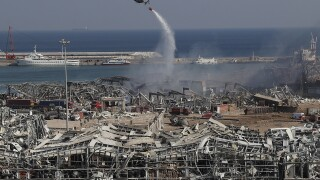 APTOPIX Lebanon Explosion