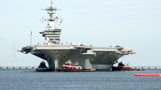 Photos: USS Theodore Roosevelt finally ready for seatrials