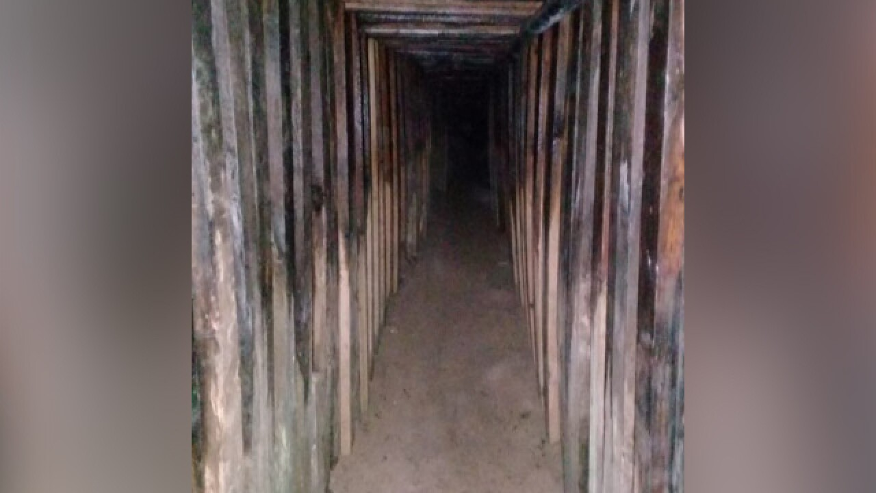 Border tunnel leading to KFC found in Yuma