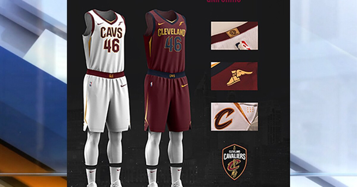 762a2ea473e Cleveland Cavaliers unveil new uniforms for the 2017-2018 season