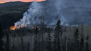 North Fork Fire in WY_June 8 2021