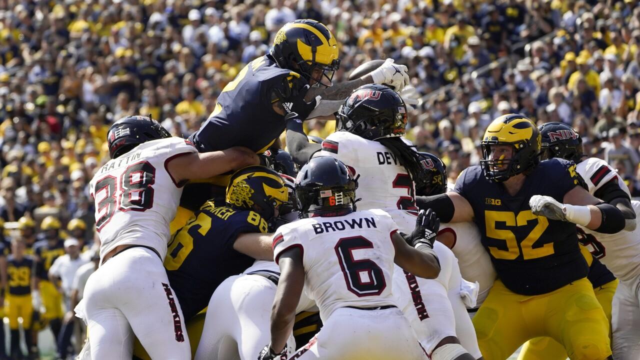 Blake Corum N Illinois Michigan Football