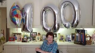 Corpus Christi woman celebrates 100th birthday with street parade
