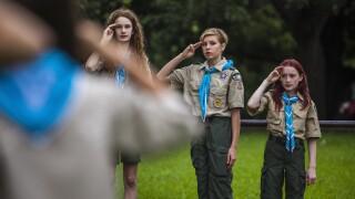 Girls in Boy Scouts of America