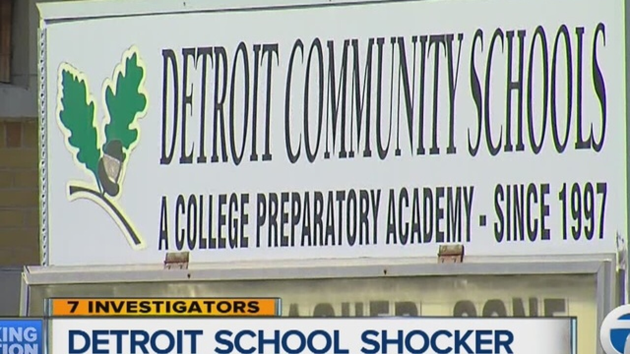 Administrators at Detroit charter penalized