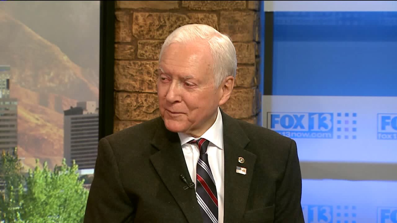 Sen. Hatch: 'I'm planning on running again, there's no question about that'