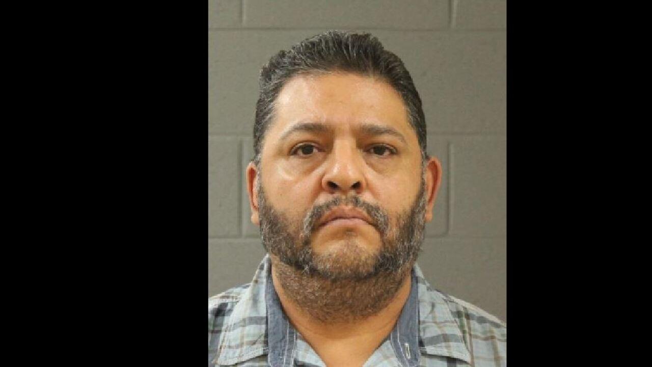 Mug shot of Roberto Garcia taken at the Purgatory Correctional Facility in Washington County