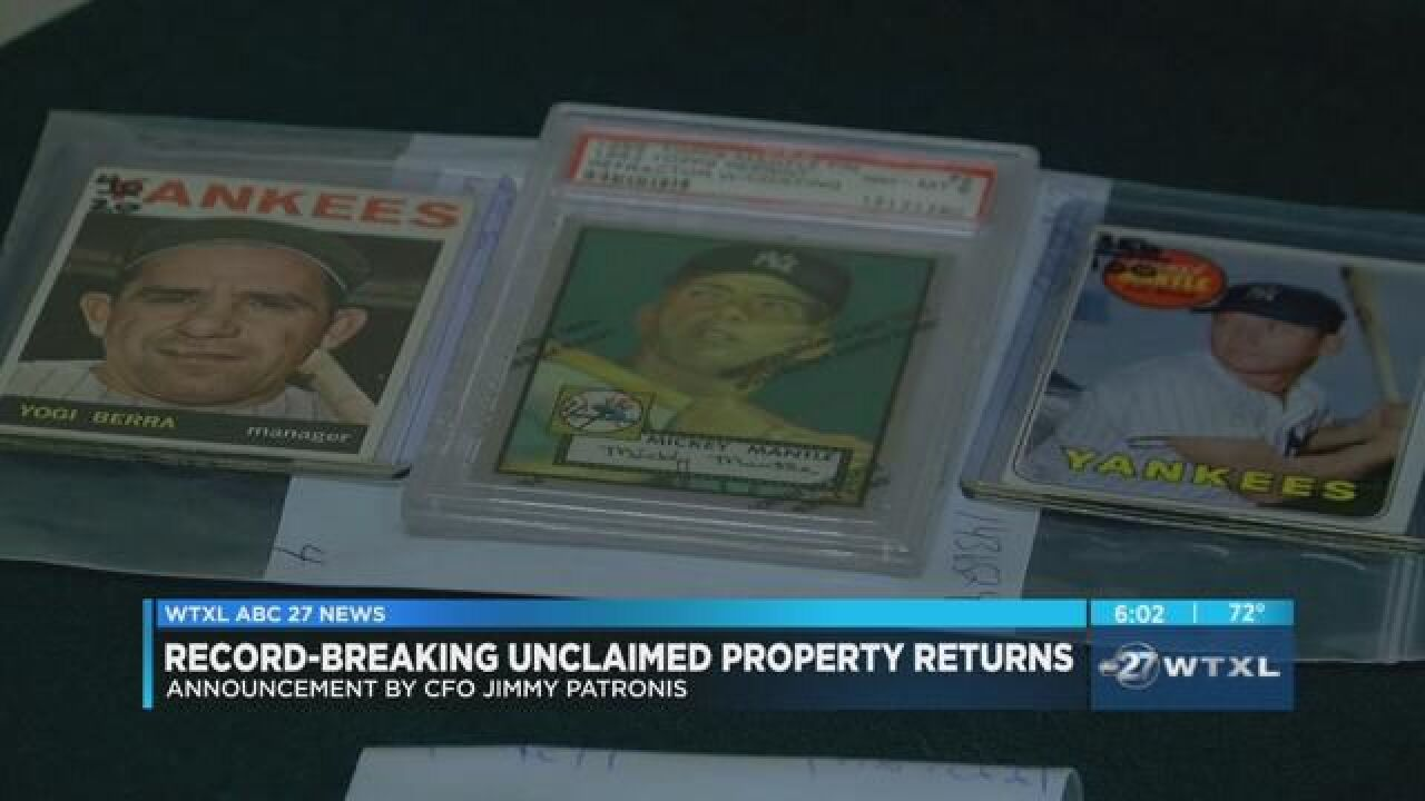 Florida has record-breaking month of unclaimed property returns