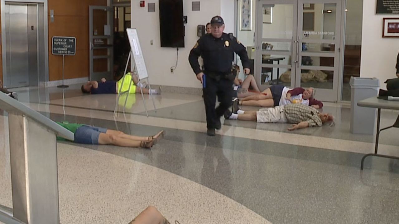 Active shooter training in Florence