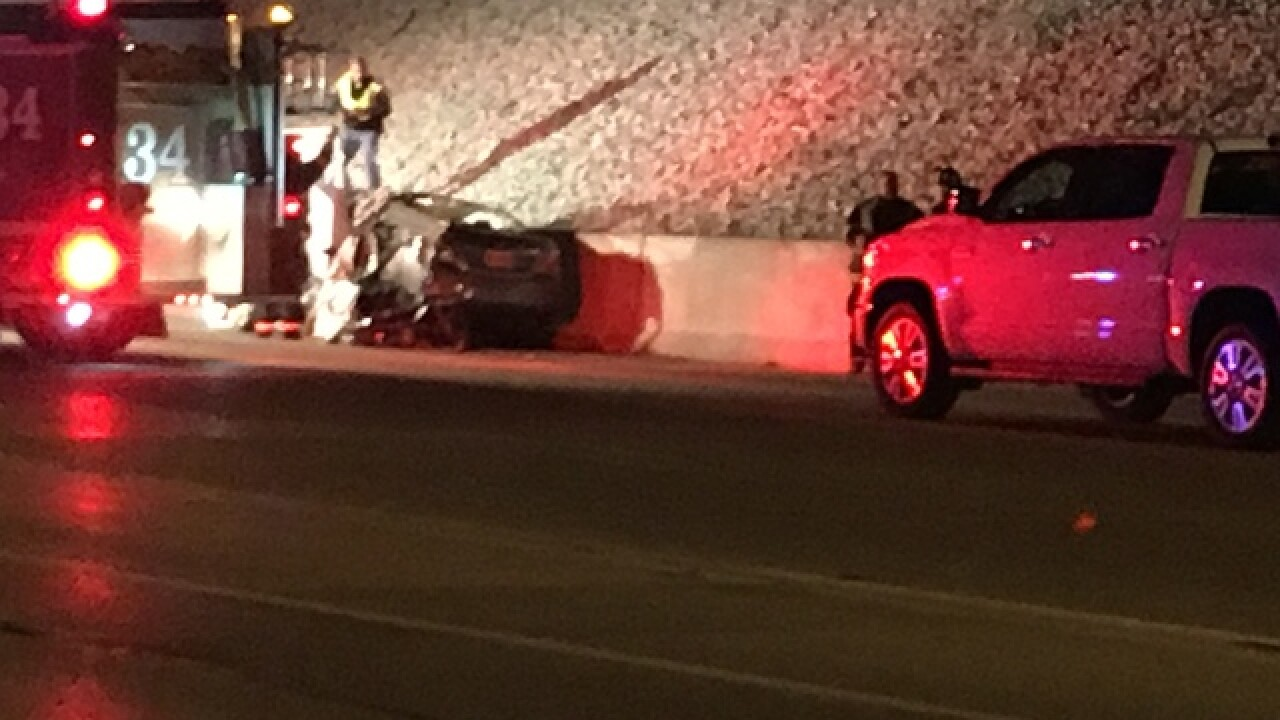 One person killed in I-65 crash on south side