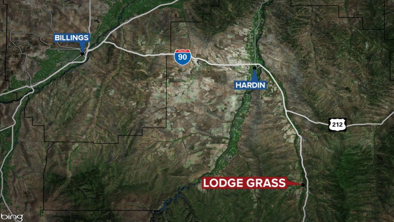 lodge grass map