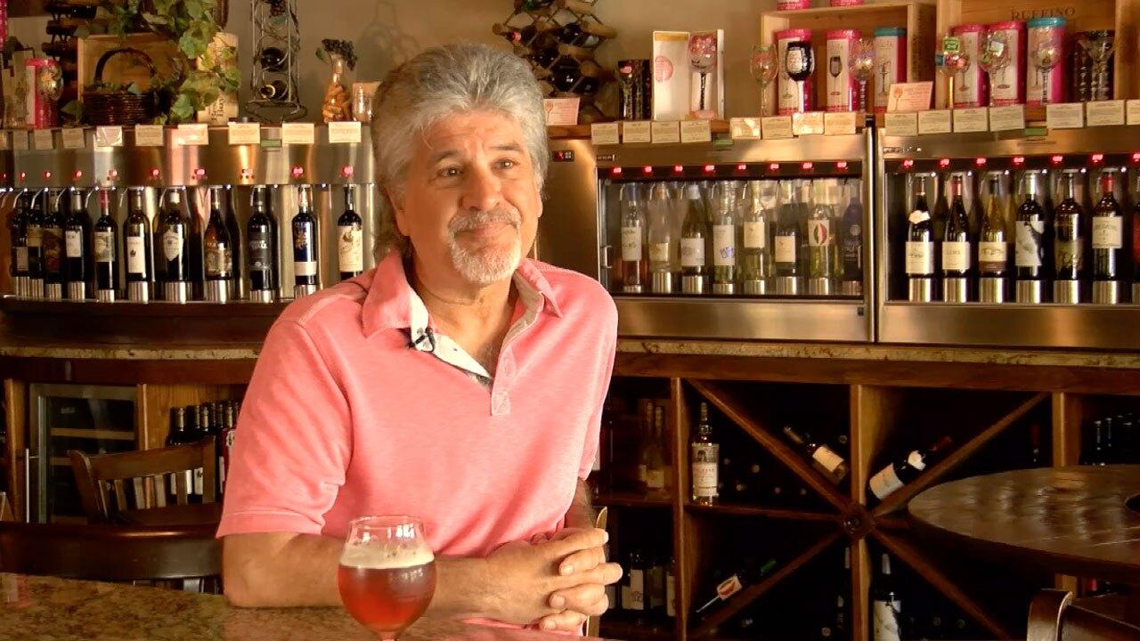Mark Carbone, owner of Vine and Barley lounge in Stuart