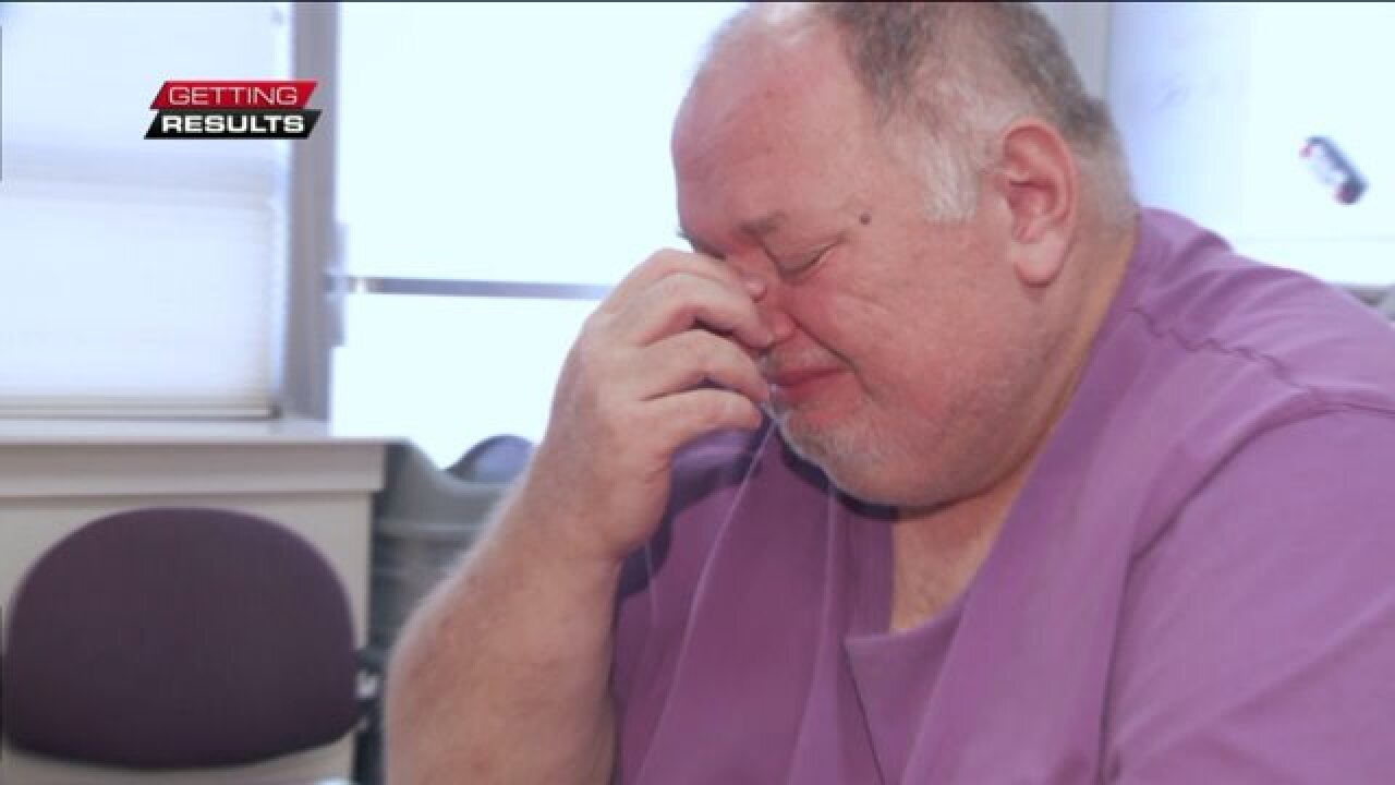 Homeless man overwhelmed by nationwide support for his Thanksgivingwish