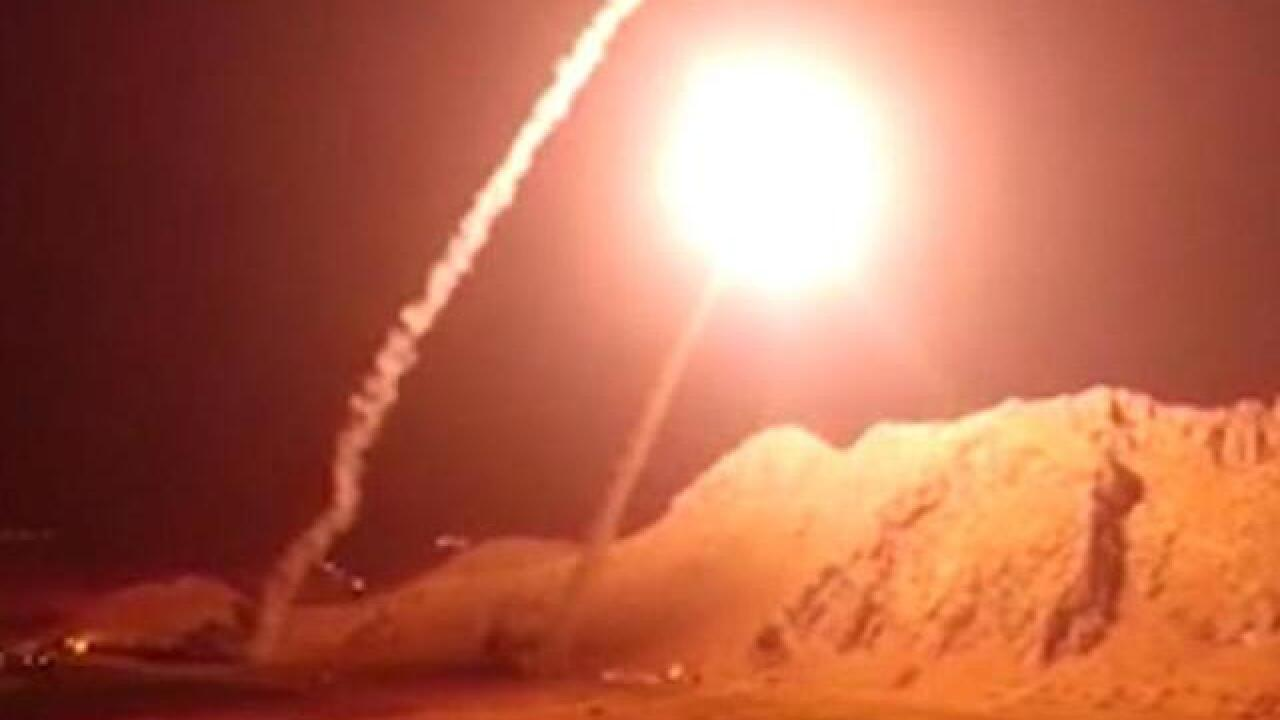 Iran fires missiles into Syria in response to Ahvaz parade attack