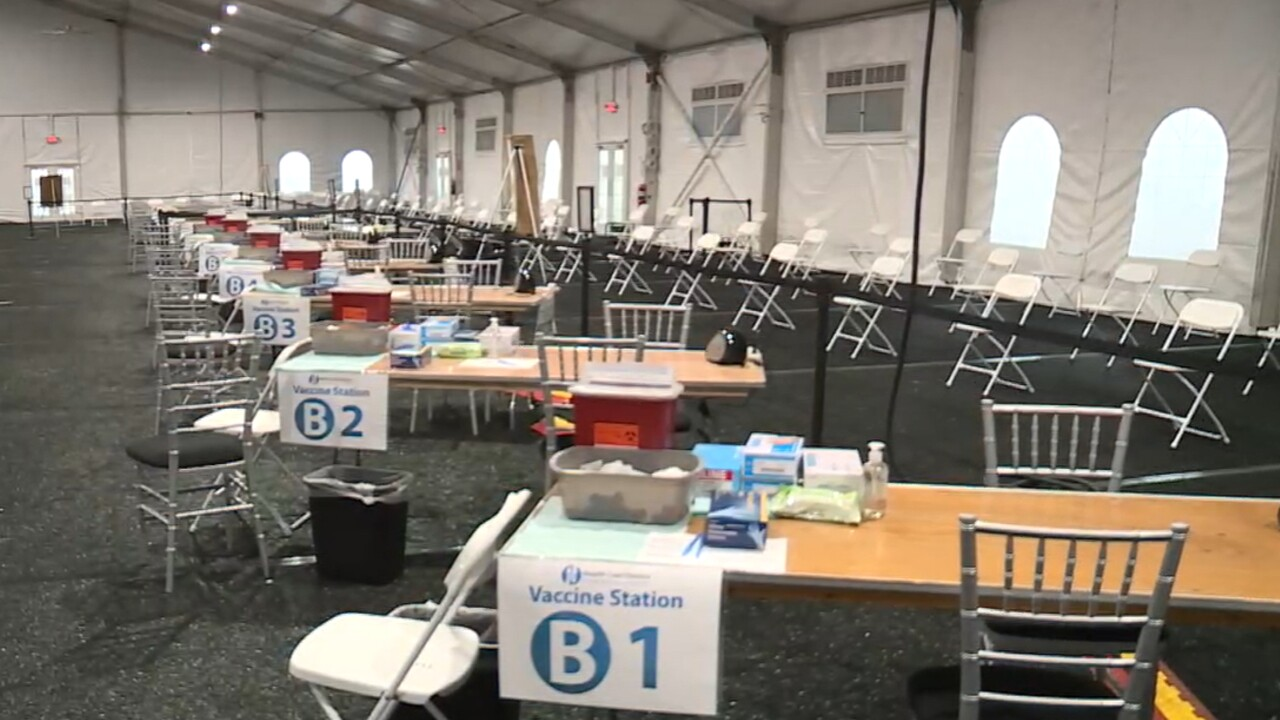 A mass COVID-19 vaccination site opened on Feb. 10 at the South Florida Fairgrounds near West Palm Beach.jpg