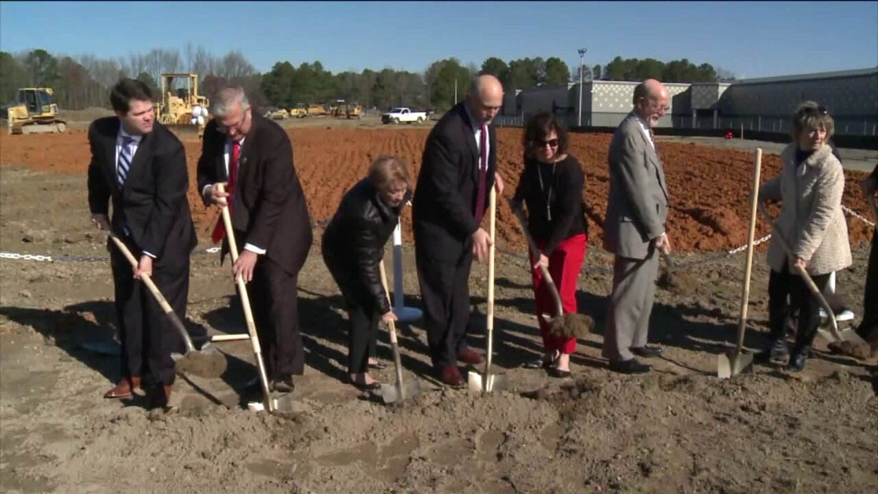 'This makes it real': Chesterfield Schools break ground on new MatoacaElementary