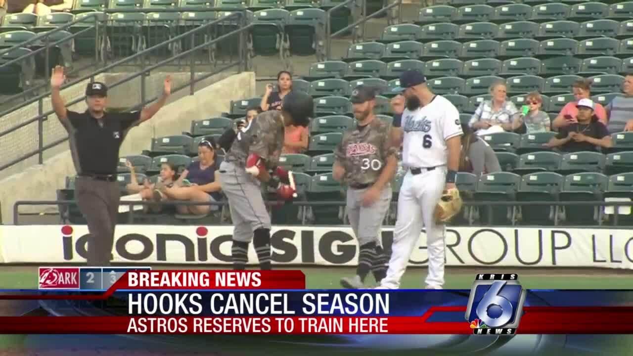 The Hooks 2020 Texas League season has been canceled