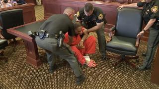 Gurpreet Singh falls in court