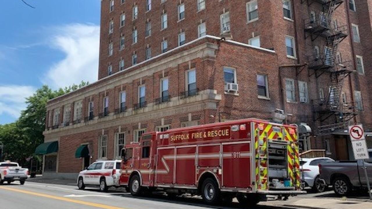 SU Suffolk Tower Apartments water leak (June 30).jpg
