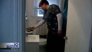 Jacob Gonzalez is having trouble getting his toilet fixed at his Corpus Christi apartment
