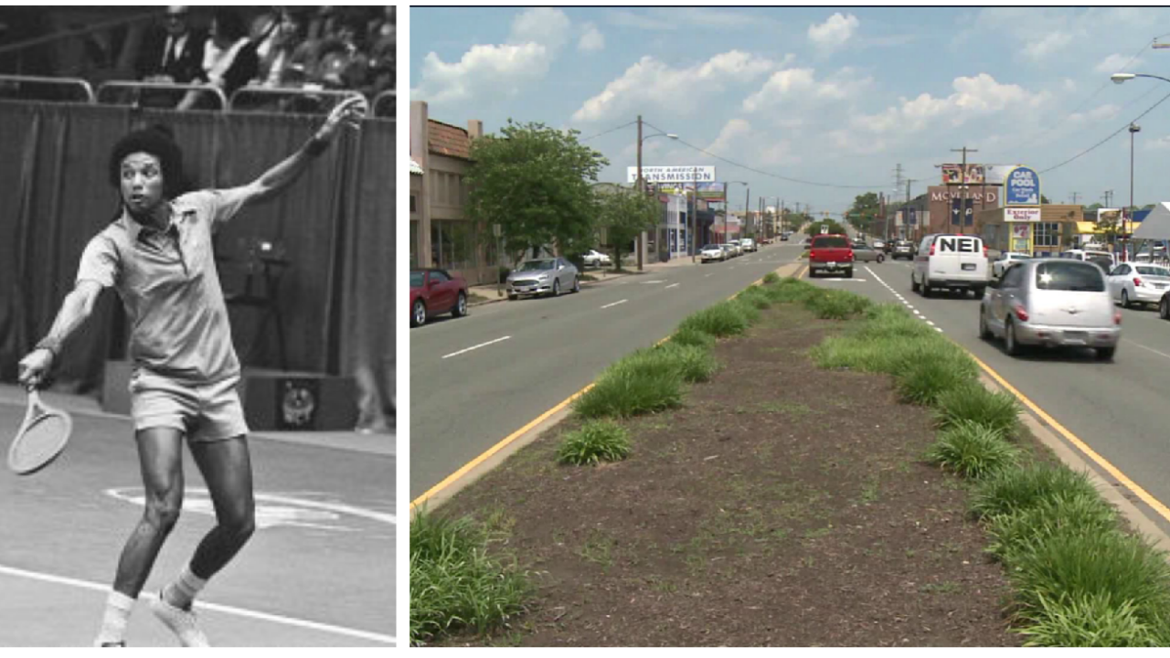 3 days of family events will culminate with sign unveiling of Arthur Ashe Boulevard