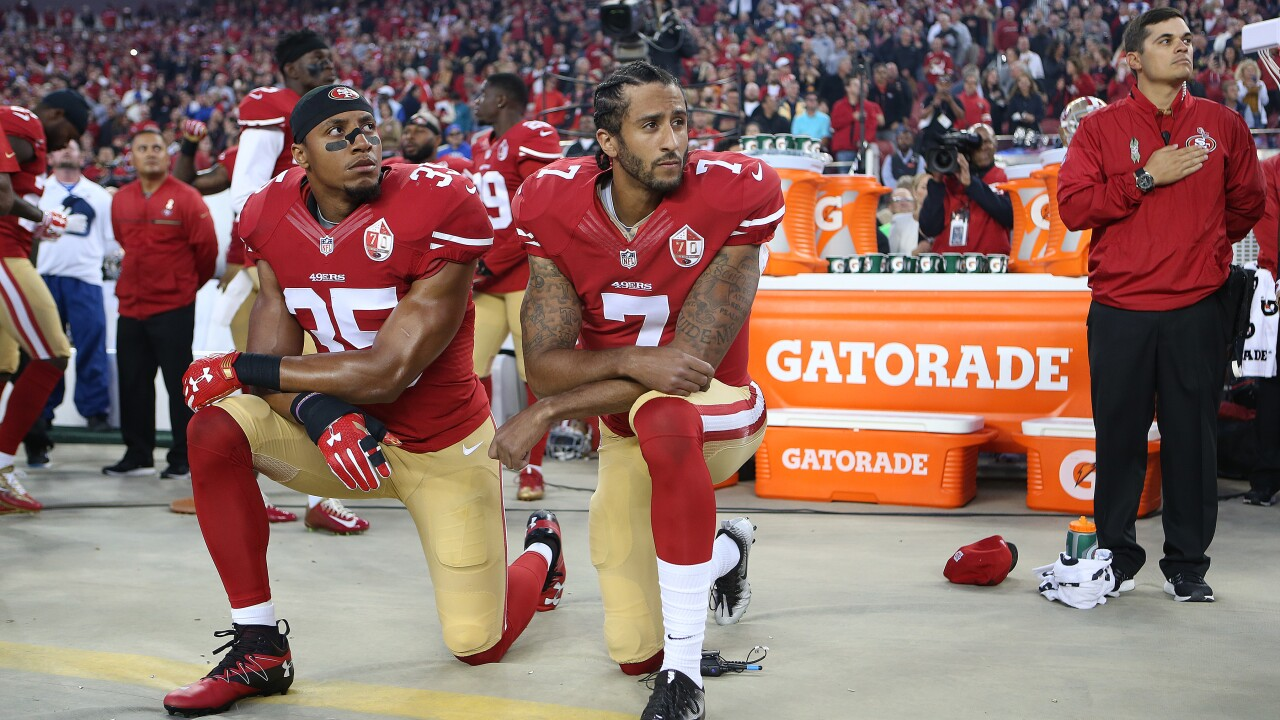 President Trump supports Colin Kaepernick rejoining the NFL