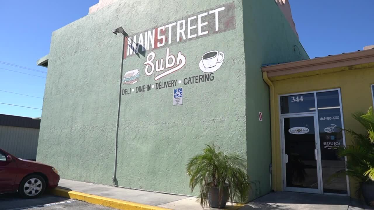 Main Street Subs on U.S. Highway 27 in Clewiston
