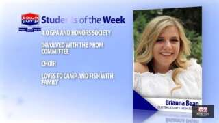 Student of the Week: Brianna Bean and Brandon Mitchell of Custer County High School