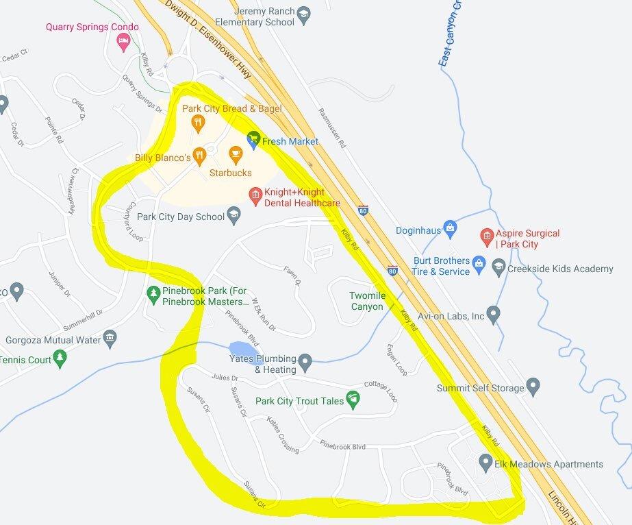Lower Pinebrook Evacuation