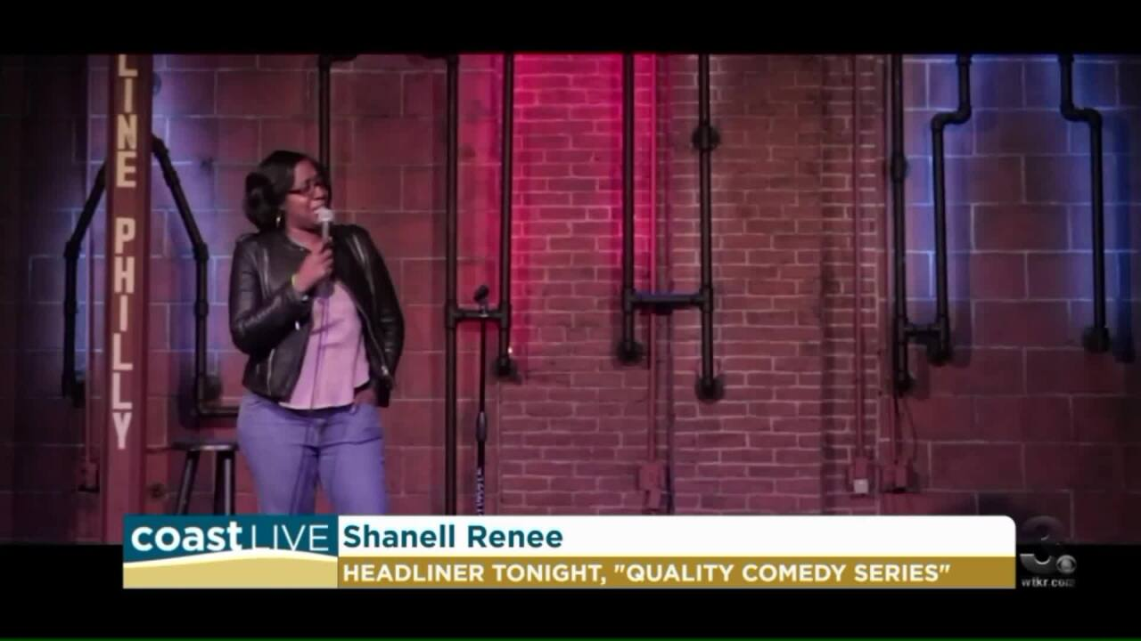 Comedian Shanell Renee stops by to preview the Quality Comedy Series on CoastLive