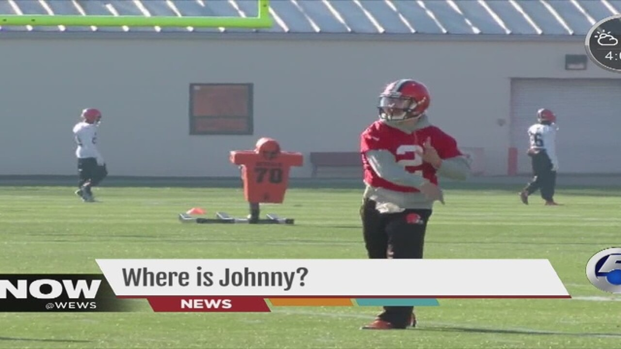 Where in the world is Johnny Manziel?