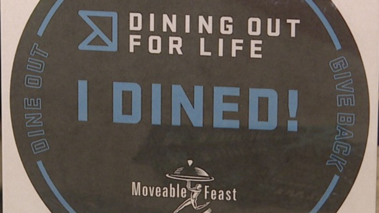 Dining Out for Life on September 20