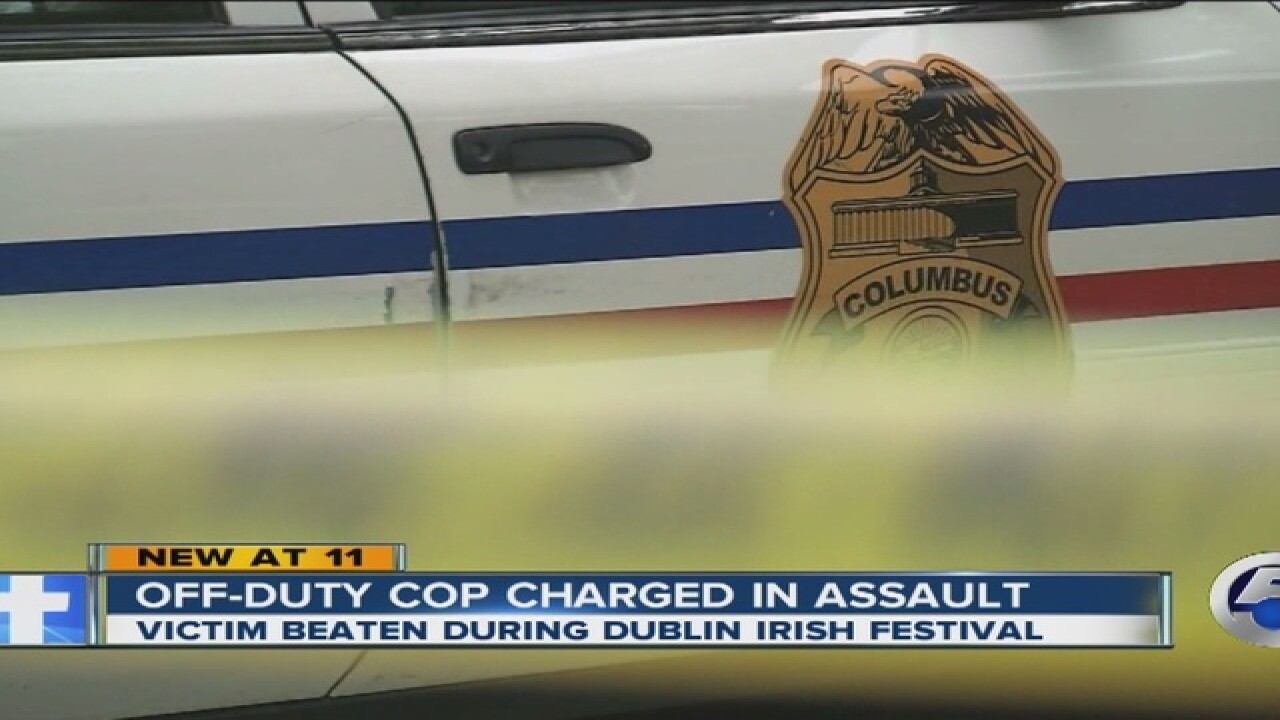 Victim: Assault by off-duty officer was random